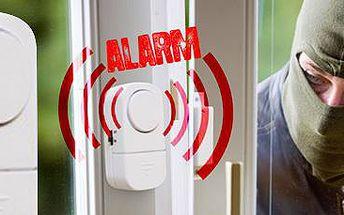Domácí alarm na dveře a okna. Chraňte svou rodinu i majetek!