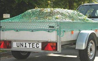 Síť pro upevnění nákladu Unitec na přívěsný vozík 1.5x2.7m