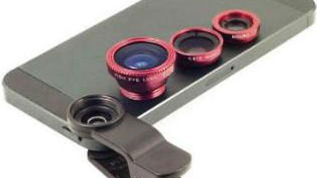 LENS Přídavné objektivy na smartphone či tablet 3v1