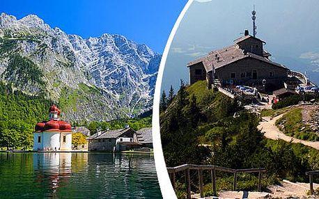 1denní výlet k Orlímu hnízdu, do solných dolů a k nejhlubšímu jezeru střední Evropy