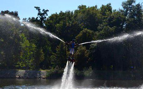 Flyboarding 25 nebo 30 minut - nezapomenutelný vodní zážitek