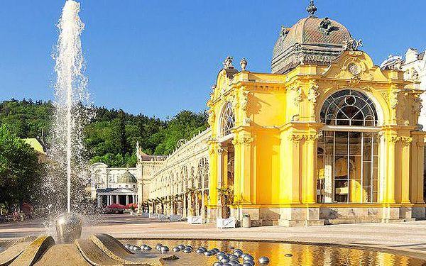 Až 6denní wellness pobyt pro dva v hotelu Romania*** v Mariánských Lázních