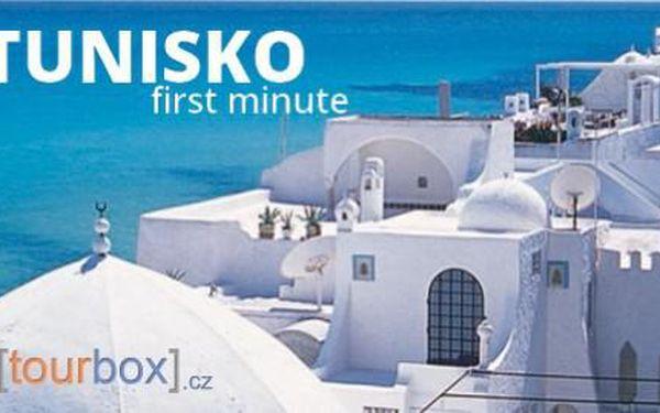 First minute Tunisko, letecky na 8 dní od 7790 Kč! A jako bonus za 90 Kč získáte také slevový voucher v hodnotě 500 Kč!