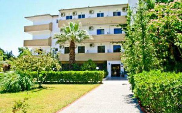 Řecko, oblast Rhodos, letecky, bez stravy, ubytování v 3* hotelu na 12 dní