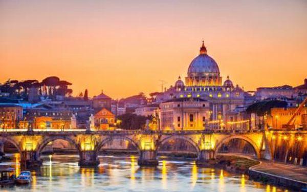 Poznávací zájezd do Vatikánu, Říma a Florencie na 4 dny s ubytováním v hotelu