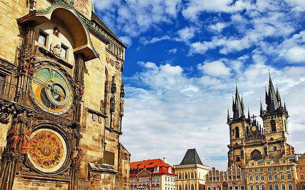 2denní nebo 3denní dovolená pro 2 osoby se snídaněmi v Praze v hotelu Krystal