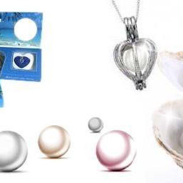 PERLA PŘÁNÍ - Luxusní dárek pro každou ženu !!! Barva perly bude překvapením do poslední chvíle. Navíc s dárkem uvnitř !!