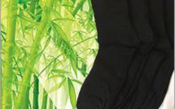 9 párů bambus. ponožek