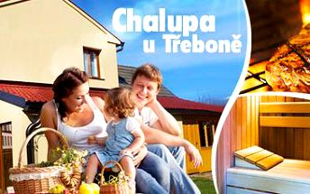 Chalupa u Třeboně: ubytování až pro 17 osob v období od března do května 2015!