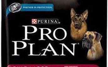 Kompletní krmivo pro dospělé psy velkých plemen Purina Pro Plan Adult Large Athletic jehněčí 14kg + 2,5 kg