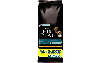 Granule Purina Pro Plan Puppy Original kuře 14kg + 2,5kg