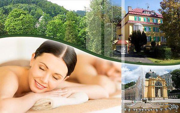 Hotel Villa Skalník s polopenzí, procedurami a vstupem do bazénu