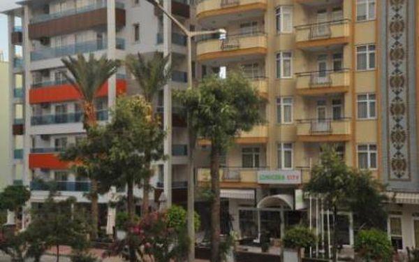 Turecko, oblast Alanya, letecky, snídaně, ubytování v 3* hotelu na 8 dní