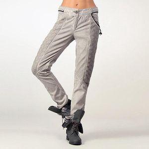 Dámské šedé bavlněné kalhoty Angels Never Die