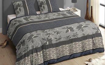 Povlečení Descanso Bed Grey, 140x200 cm