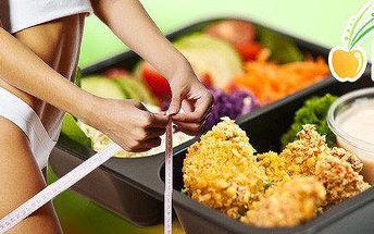 Fitness Food menu na 5 či 20 dní včetně dopravy