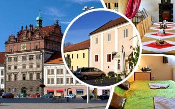4 denní pobyt pro 2 osoby naproti renesančnímu zámku Spálené Poříčí v hotelu Ve Dvoře s polopenzí, welcome drinkem, vstupem do muzea a wellness procedurou!Odpočiňte si na bývalém velkostatku a vydejte se za krásami jižního Plzeňska!!
