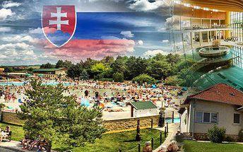 Slovensko - Pobyt pro 1 nebo 2 osoby na 4 dny přímo u léčivých termálních lázní Podhájska! Ubytování v soukromém apartmánovém domě! Sleva na celodenní vstup do Římských lázní! Voda v Podhájské je srovnatelná s vodou Mrtvého moře!