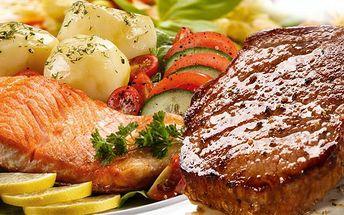 Dvouchodové menu pro dva v restauraci Sklípek U Munků