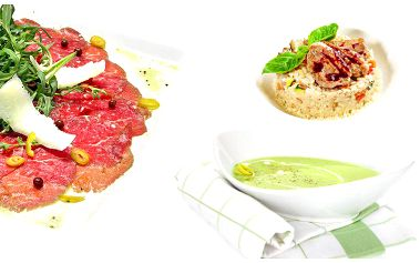 5chodové jarní degustační menu pro 2 osoby v brněnské restauraci Stratosféra