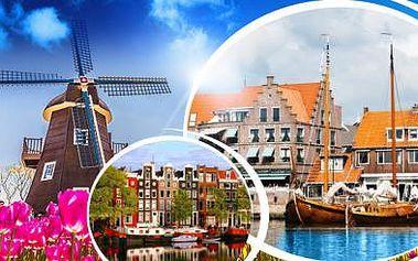 AMSTERDAM - Autobusový zájezd pro 1 osobu s návštěvou rybářské vesničky Volendam a VĚTRNÝCH MLÝNŮ!