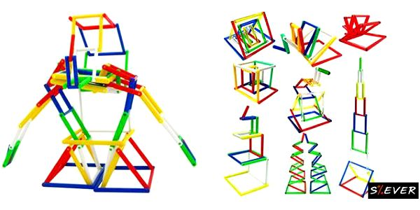 """Jeliku, 3D puzzle, které naplňuje myšlenku """"jednoduchý nápad, tisíc možností"""". Jeliku je snadné na hraní, ohýbání, otáčení tam a zpět, vytváření zajímavých a vzrušujících tvarů. Jeliku je vhodné pro každý věk!"""