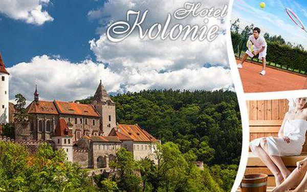 Romantika pod hradem Křivoklát