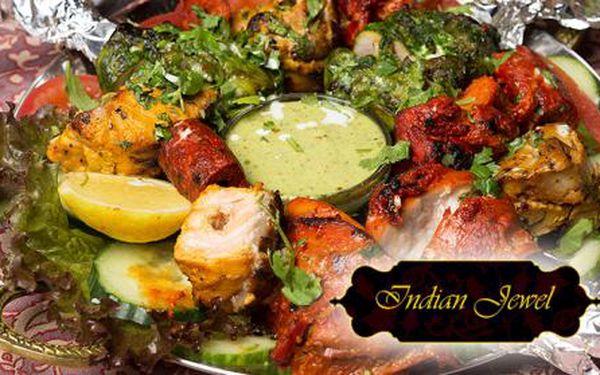 INDIAN JEWEL - ta nejlepší indická restaurace v ČR! Jídla dle vašeho výběru s 50% slevou ve špičkové pravé indické restauraci! Tradice, chuť a kvalita! Objevte svět voňavých tajemství Indie v centru Prahy u Staroměstského náměstí!!!!!!!!!!!