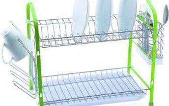 Odkapávač na nádobí 43 x 25 x 38 cm RENBERG