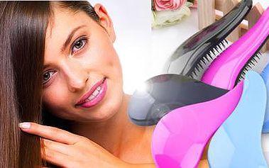 Magický rozčesávací kartáč na vlasy! Na výběr ze tří barev. Zdravé, krásné a pevné vlasy snadno a rychle!