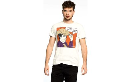 Pánské tričko Wrangler- Poster Dawn