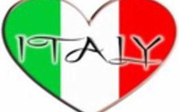 12 lekcí italštiny pro falešné začátečníky A0/A1 - pondělí 19:10 - 20:40