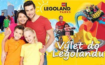 Den plný dobrodružství v LEGOLANDU! Celodenní zájezd do německého Legolandu včetně vstupenky, dopravy a průvodce! Nezapomenutelný zážitek pro děti celou vaši rodinu!!