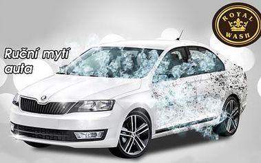 Profesionální RUČNÍ MYTÍ AUTA včetně tepování interiéru a vysušení! Možnost vyzvednout a poté přistavit vyčištěné auto kdekoli v Brně ZDARMA! Svěřte péči o své auto odborníkům s dlouholetou praxí a užijte si perfektní servis automyčky Royal Wash!