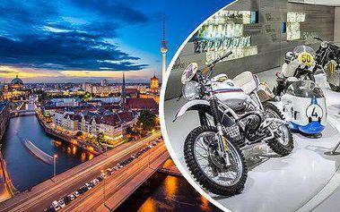 Nezapomenutelný zážitek pro syny, táty i dědečky... Celodenní zájezd do výrobny motorek BMW v Berlíně včetně vstupenky!