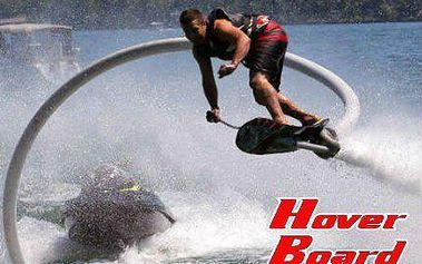Adrenalin stoupá! Zážitkový let na Hoverboardu na Vraném nad Vltavou!