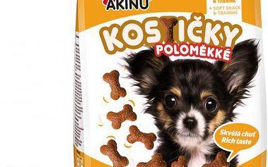 Akinu Kostičky pro psy poloměkké 5 x 450g