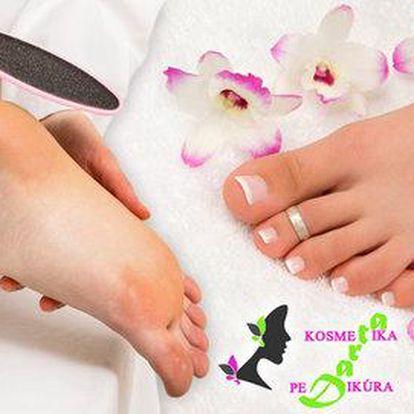 Mokrá pedikúra – balíčky pro zdravé nohy