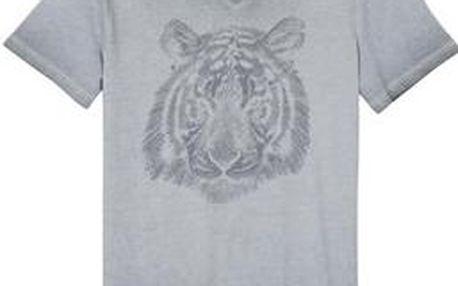 Pánské triko s V výstřihem a s potiskem