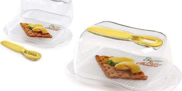 Box na máslo s nožem