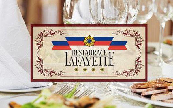 Vydatná bašta za 400 Kč v Restauraci Lafayette
