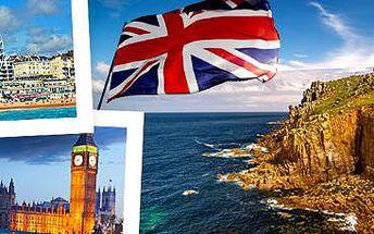 Krásy jižní Anglie se zastávkou na konci světa: Autobusový zájezd na 6 dní!