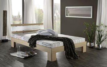 Moderní futonová postel SCONTO RHONE