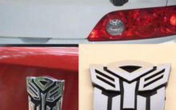 Samolepka na auto - Transformers!