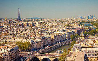 Čtyřdenní zájezd do Paříže a Versailles i s ubytováním