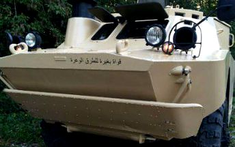 Adrenalinová jízda v obrněném transportéru BRDM2!