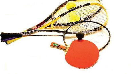 Akce pro sovy: Squash, tenis, badminton a stolní tenis od 22 - 23h ve STEPu od 90 Kč!!!