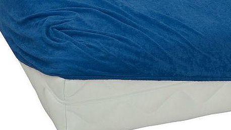 TipTrade BedTex froté prostěradlo tmavě modrá, 90 x 200 cm, 90 x 200 cm