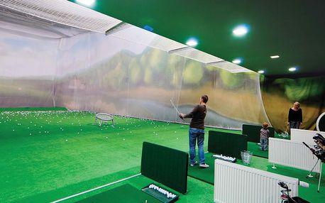 Indoor golf ve STEPU: Simulátor, driving range nebo putting green a navíc míčky k tomu