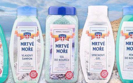Mrtvé moře WELLNESS balíček 5 přírodních produktů